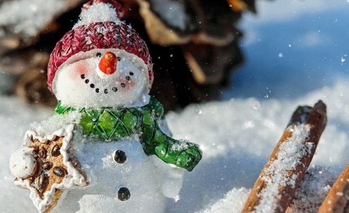 zyma snig rizdvo